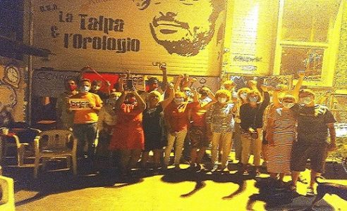 Italia. Imperia contra el bloqueo, al lado de Venezuela y Cuba