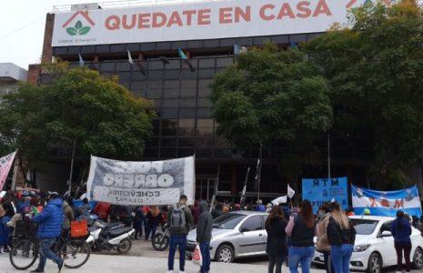 Argentina. Se efectuó una jornada de lucha en Estéban Echeverría /Reclaman asistencia a los merenderos