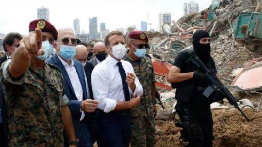 Líbano. Explosión en Beirut, escenario de Francia para colonizar