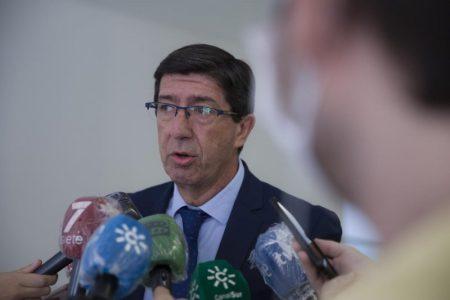 """Las declaraciones se produjeron ayer en una entrevista a la Cadena Ser. Juan Marín lamentó que """"no ha comenzado el curso y ya se están convocado huelgas"""""""