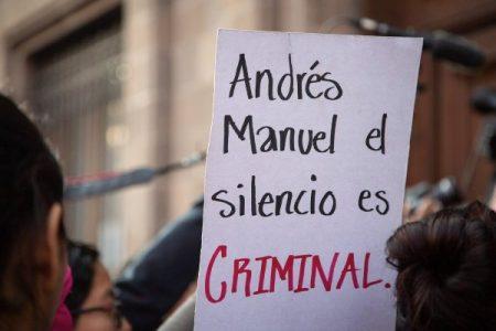 México.Datos oficiales sobre feminicidio contradicen dichos de AMLO