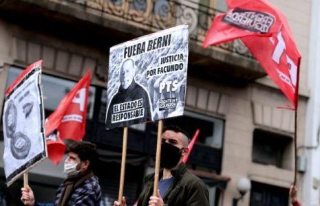 Argentina. Movilización en La Plata al grito de Justicia por Facundo