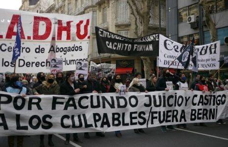 Argentina. Una multitud marchó en la Capital exigiendo justicia para Facundo Castro // Repudio masivo a Berni y a la Bonaerense (Fotos y video)