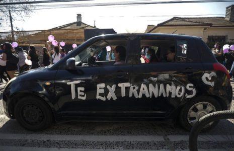 Chile. Funeral de Ambar Cornejo (fotos)