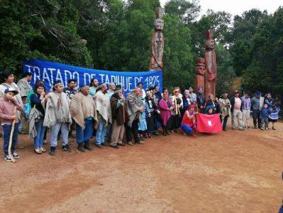 Nación Mapuche. Parlamento de autoridades Pu Kuifike longko Gülmen ñi nütran