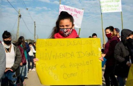 Argentina. Carta de las mujeres de la toma de tierras de Guernica a dos ministras: «Ayúdennos a echar atrás el desalojo»