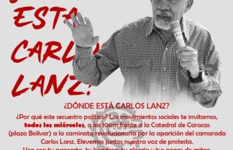 Venezuela. ¿Dónde está Carlos Lanz? Recordando uno de sus aportes liberadores