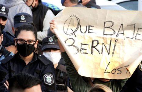 Argentina. Importante comunicado de la Liga por los Derechos Humanos sobre la rebelión policial