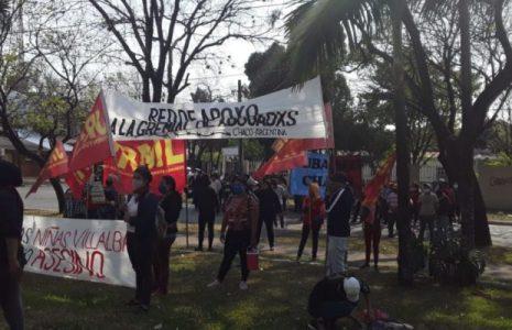 Argentina. Marcharon en el Chaco hacia Consulado paraguayo /Represión y detenidos
