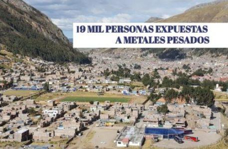 Perú. Demandan al Estado para que implemente una estrategia integral para las 19 mil personas expuestas a metales pesados