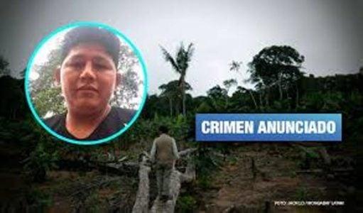 Perú.Asesinan a defensor ambiental en Madre de Dios amenazado por invasores de terrenos