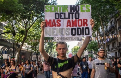 Argentina. Un crimen de odio a personas LGBT+ cada tres días