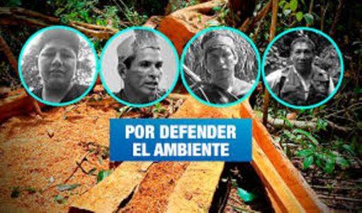 Perú. Cuatro líderes ambientales han sido asesinados durante la pandemia
