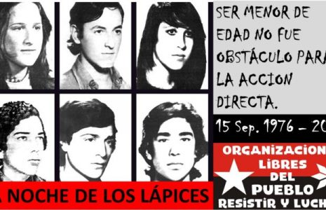 Argentina. Memoria: «La noche de los lápices» no se olvida ni se perdona, tampoco a sus asesinos