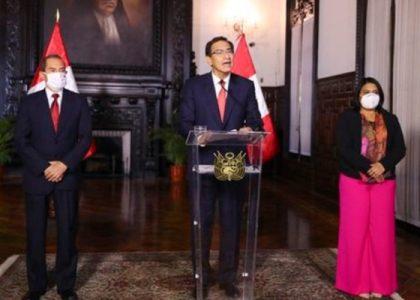 Perú. Contra la toma ilegítima del poder