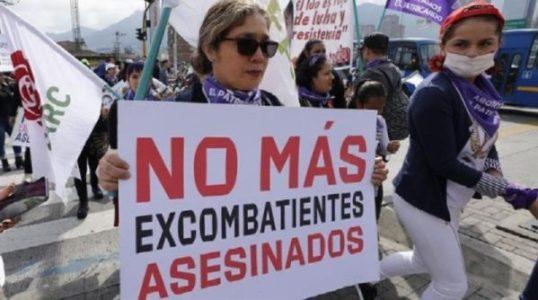 Colombia. Asesinan a otro excombatiente de las FARC y suman 229 desde la firma del Acuerdo de Paz