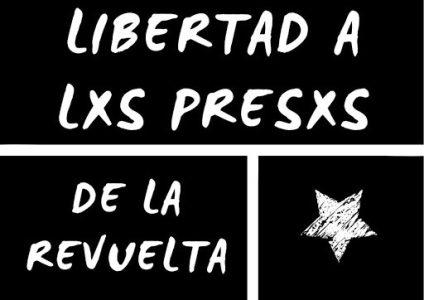Chile. Exigen la libertad de los presos de la Revuelta / En juicios farsa se piden altas condenas