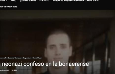Argentina. Un neonazi confeso en la policía bonaerense
