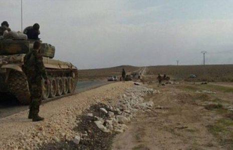 Siria.  Ejército sirio construye un nuevo puente sobre el Éufrates en Deir Ezzor