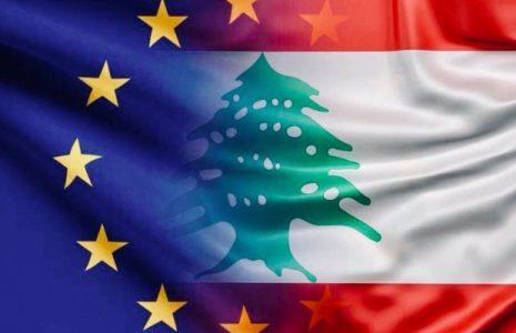 Líbano.  La Unión Europea pide la unidad entre los líderes políticos