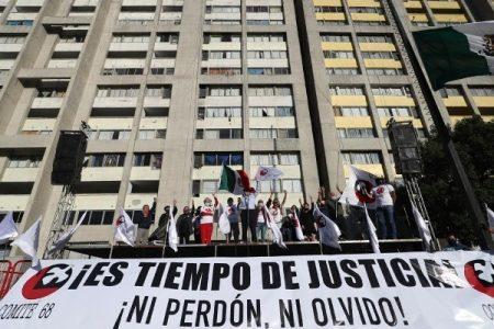 México. Cientos se reúnen en Tlatelolco para conmemorar el 2 de octubre