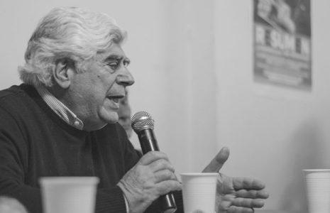 Argentina. El poeta y escritor Zito Lema solidario con la recuperación de tierras de Guernica