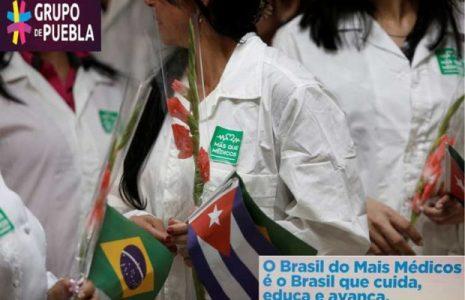 Internacional. Grupo de Puebla rechaza campaña de Estados Unidos contra medicina de Cuba