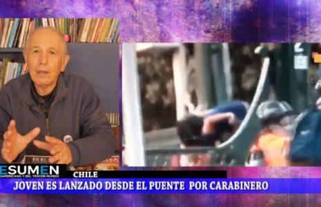 Resumen Latinoamericano tv: Chile: Jaime Castillo y la libertad a lxs presxs de la revuelta