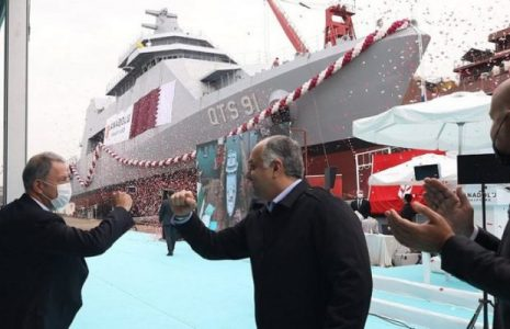 Turquía. Suministrará dos barcos de guerra a Qatar