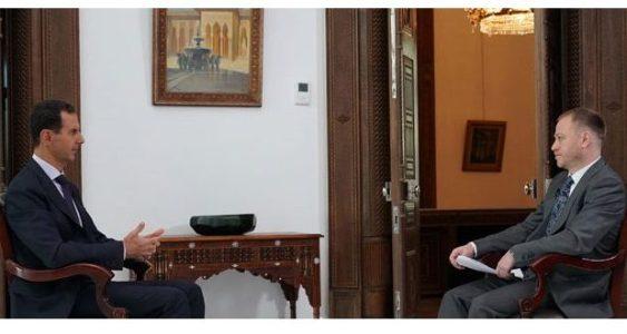 Siria.  Assad: Si los ocupantes estadounidenses y turcos no se van  se  producirá un levantamiento popular en su contra