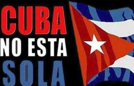 Panamá. Solidarios con Cuba repelen a contrarrevolucionarios