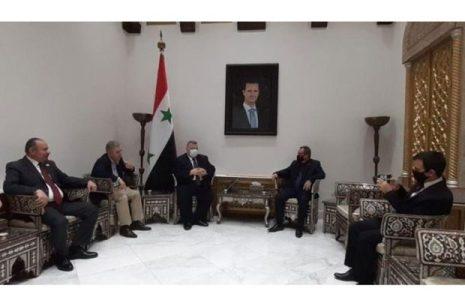 Siria. Agradece el apoyo y solidaridad de Cuba