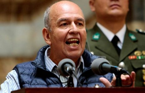 Bolivia. El ministro fascista Murillo montó otro show mediático, mintiendo sobre el maltrato dado al diputado argentino Fagioli /Más declaraciones amenazantes (video)