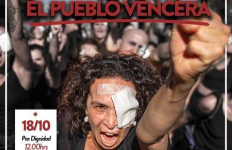 Chile. Este sábado hubo más protestas en Santiago /En Plaza de la Dignidad ardió un carro lanzagases de los carabineros /Detenciones en Plaza Maipú (videos)