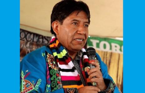 Bolivia. David Choquehuanca exhorta al pueblo a votar y tener confianza en la victoria (video)