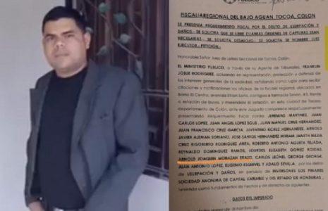 Honduras. La violencia y la muerte llegó a Guapinol de las mano de empresa minera