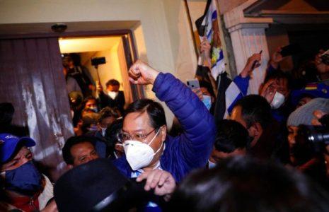 Bolivia. El MAS ganó en seis de los nueve departamentos del pais y la división este-oeste  se hizo sentir