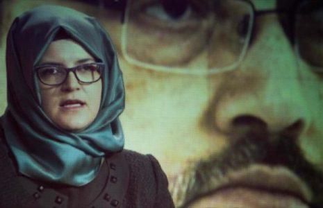 Arabia Saudí.  Novia de Khashoggi presenta denuncia contra príncipe heredero saudí