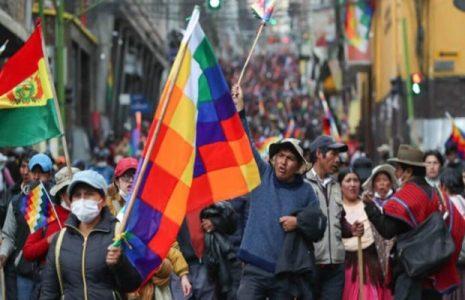 Bolivia. Oponer al pataleo de la derecha, la unidad del pueblo organizado