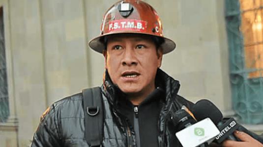 Bolivia. El dirigente minero Orlando Gutiérrez fue atacado por derechistas y se encuentra internado
