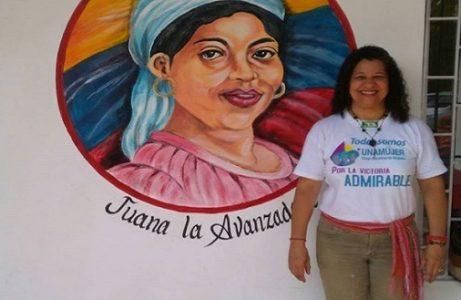 """Venezuela. Dinorah Requena: """"el 25 de octubre de 2008 Chávez sembró el socialismo feminista en el corazón de Venezuela"""""""