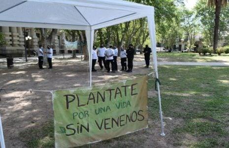 Argentina. Denuncian amedrentamiento de la Policia de Rosario en acampe ambientalista