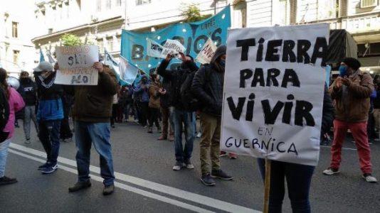 Argentina. Toma de Guernica: Convocan a un acto cultural y de reflexión en el Obelisco este viernes