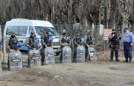 Nación Mapuche. Importante despliegue de fuerzas de seguridad y dispositivos federales en Villa Mascardi