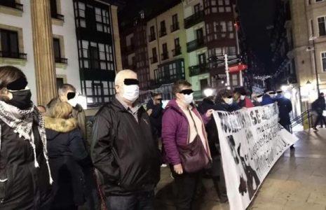 Euskal Herria. Continúan las concentraciones de solidaridad con el preso vasco Iñaki Bilbao (Txikito) que sigue en huelga de hambre y sed