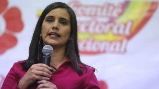 Perú. Verónika Mendoza se postula a la presidencia y sólo hay cuatro mujeres de 33 precandidaturas
