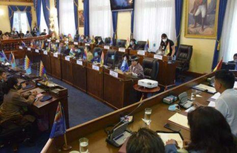 Bolivia. Líder del Senado  demerita acciones contra gobierno electo