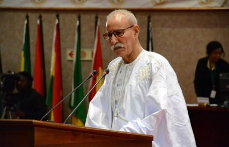 Sáhara Occidental.       Brahim Ghali espera un «compromiso efectivo» de Estados Unidos en la descolonización