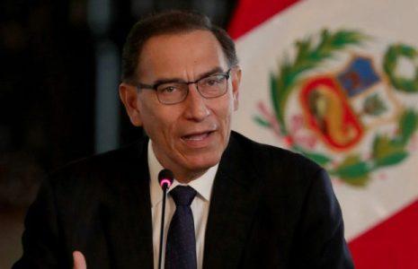Perú. El Congreso destituyó al presidente Martín Vizcarra /Asume el presidente del Senado, Manuel Marino
