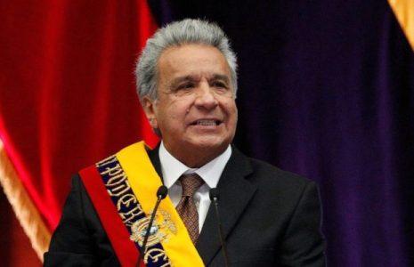 Ecuador. Moreno restablece su salario de un plumazo